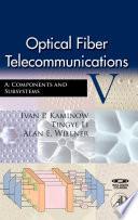 Optical Fiber Telecommunications Va Book PDF