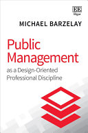 Public management as a design-oriented professional discipline