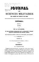 Journal des sciences militaires