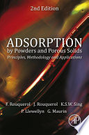 Adsorption by Powders and Porous Solids