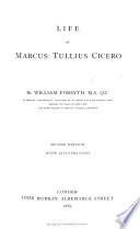 Life of M  T  Cicero     With illustrations
