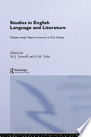 Studies in English Language & Literature