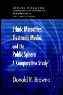 Ethnic Minorities Electronic Media And The Public Sphere