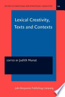 Lexical Creativity, Texts and Contexts