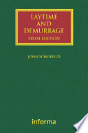 Laytime and Demurrage
