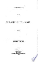 Catalogue of the New-York State Library