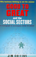 Good to great and the social sectors james charles collins jim good to great and the social sectors front cover james charles collins jim collins fandeluxe Image collections