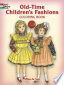Old Time Children s Fashions Coloring Book