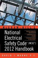 National Electrical Safety Code  NESC  2012 Handbook
