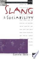Slang & Sociability Pdf/ePub eBook
