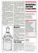 Municipal Review   AMA News