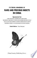 Pictorial handbook of rare and precious insects in China