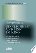 Öffnen Sie das Medium Sinnlichkeit und Sinn im Kino von Preußer, Heinz-Peter [Herausgeber] im Bibliothekskatalog