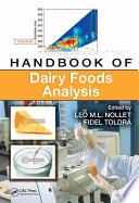 """Handbook of Dairy Foods Analysis"" by Leo M.L. Nollet, Fidel Toldra"