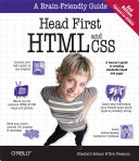 Head First HTML and CSS