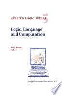 Logic  Language and Computation Book