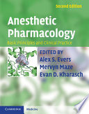 Anesthetic Pharmacology Book PDF