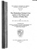 The Elizabethan Puritan s Conception of the Nature and Destiny of Fallen Man