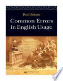 Common Errors in English Usage, Paul Brians, 2008