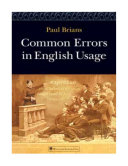 Common Errors in English Usage, Paul Brians, 2008