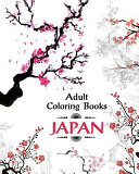 Adult Coloring Book Japan