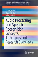 Audio Processing and Speech Recognition [Pdf/ePub] eBook