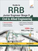 Guide to RRB Junior Engineer Stage II Civil & Allied Engineering 3rd Edition Pdf/ePub eBook