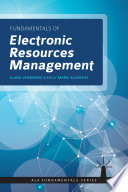 Fundamentals of Electronic Resources Management Book