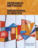 Research Methods for the Behavioral Sciences  with APA Card  Book PDF
