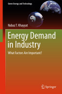 Pdf Energy Demand in Industry Telecharger