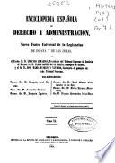 Enciclopedia española de derecho y administración o Nuevo teatro universal de la legislación de España e Indias: Com-Com