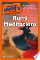 The Complete Idiot s Guide to Rumi Meditations Book
