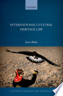 International Cultural Heritage Law