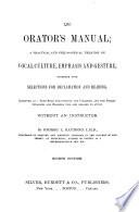 The Orator s Manual