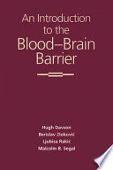 An Introduction to the Blood brain Barrier Book