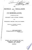 The Songs and Ballads of Cumberland