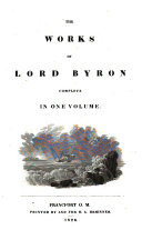 Pdf The Works of Lord Byron Complete in One Volume