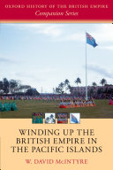 Winding up the British Empire in the Pacific Islands Pdf/ePub eBook