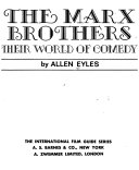 The Marx Brothers  Their World of Comedy