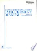 United States Postal Service Procurement Manual