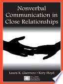 Nonverbal Communication in Close Relationships