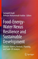 Food Energy Water Nexus Resilience and Sustainable Development