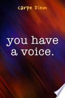 You Have A Voice (ePub)