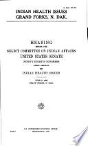 Indian Health Issues Grand Forks  N  Dak