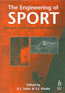 The Engineering of Sport  Research  Development and Innovation Book