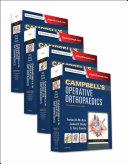 Campbell's Operative Orthopaedics Pdf/ePub eBook