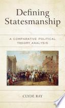 Defining Statesmanship Book PDF