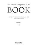 The Oxford Companion To The Book D Z
