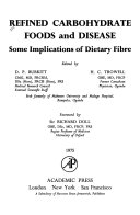 Refined Carbohydrate Foods And Disease