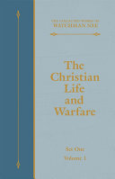 The Christian Life and Warfare [Pdf/ePub] eBook